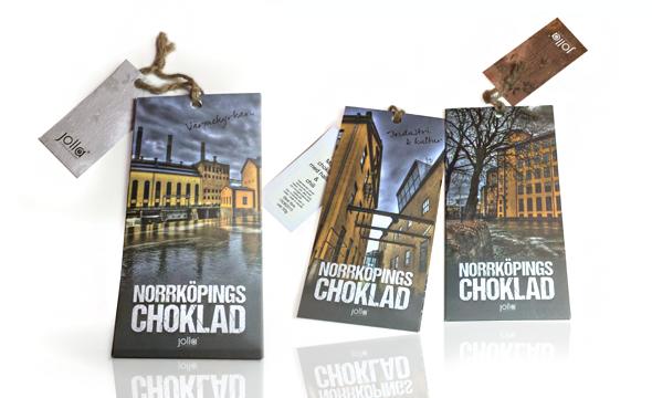 Förpackning choklad