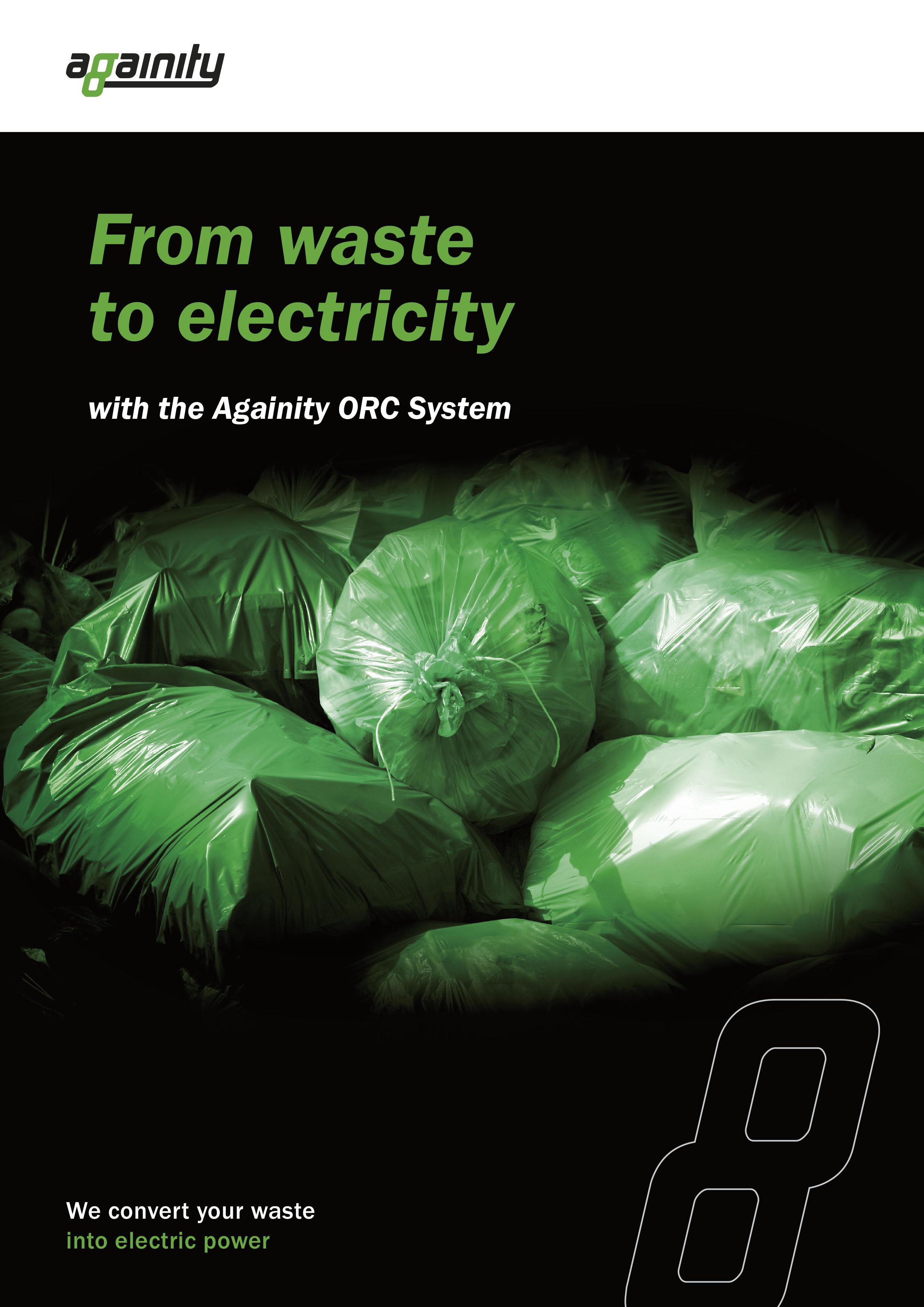 Broschyr municipal waste engelsk