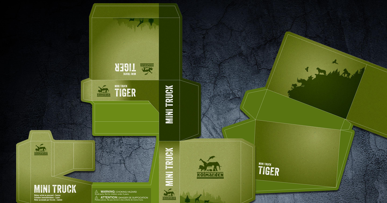 Förpackning till Kolmårdens djurpark