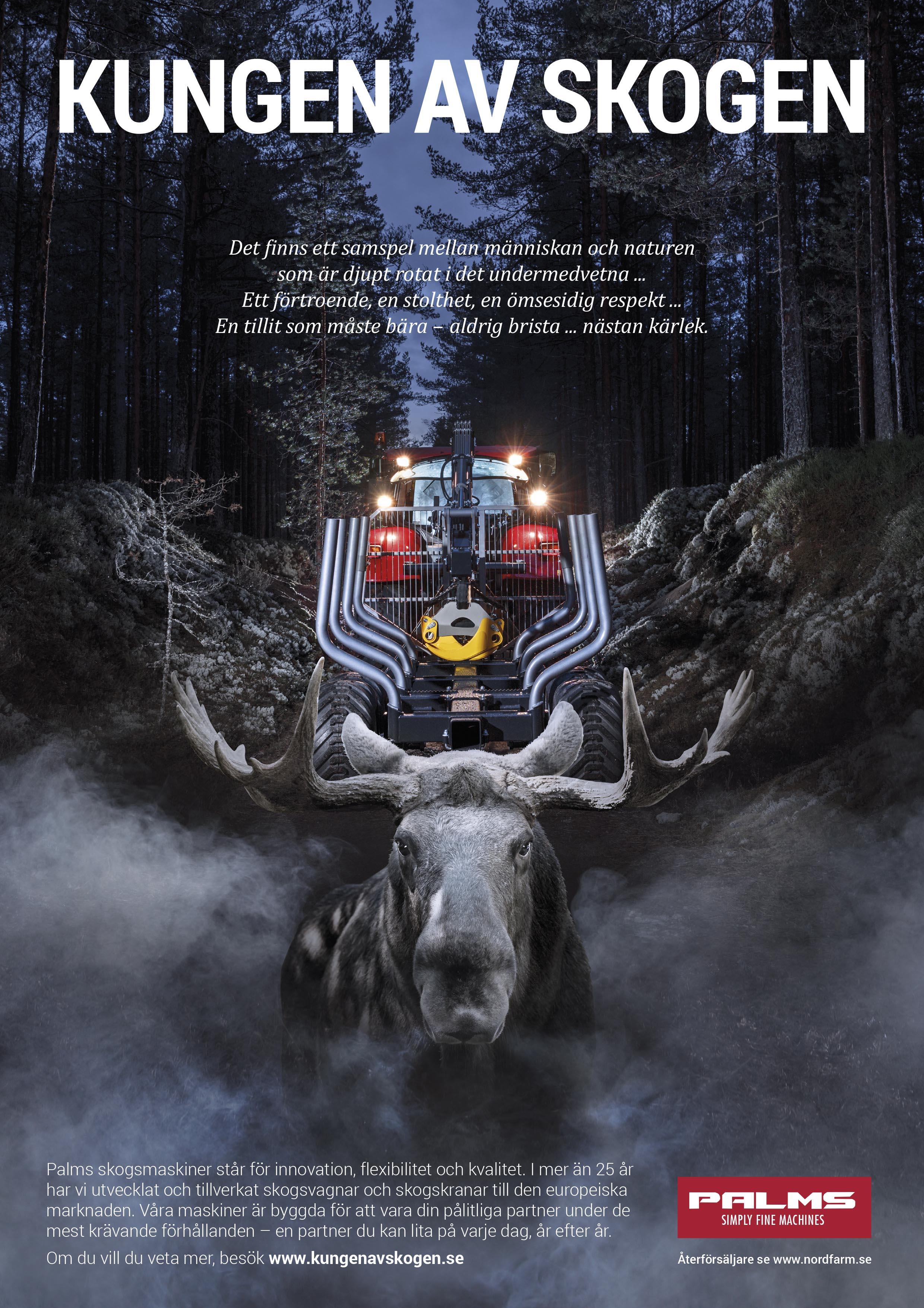 Kampanjbild Kungen av skogen